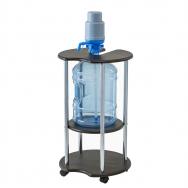 Подставка под бутыль c помпой венге