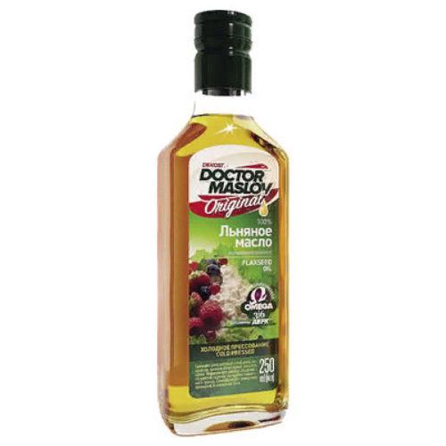 Льняное масло 100% - 250мл
