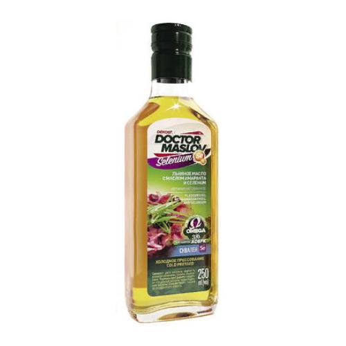 Льняное масло с маслом амаранта и селеном (Se) - 250мл