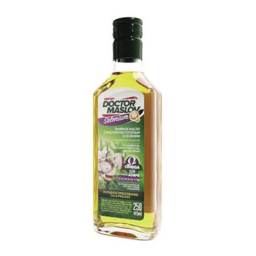 Льняное масло с маслом расторопши и селеном (Se) - 250мл