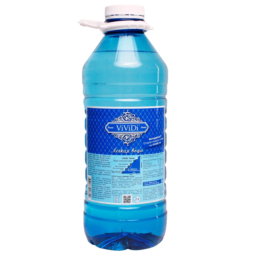 ViViDi - лёгкая вода 2л х 4 бут/уп